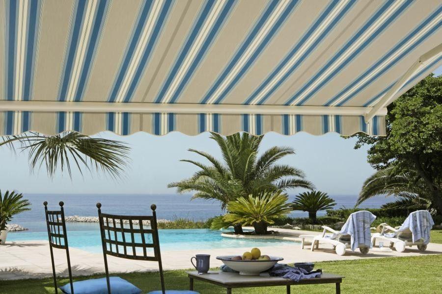 Afbeelding van Tibelly® Zonweringdoeken met streep