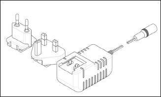 Trafo 18 volt per stuk 3 incl meter snoer