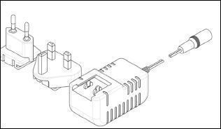 Trafo 18 volt per stuk 3 incl meter snoer (ipv battery pack)